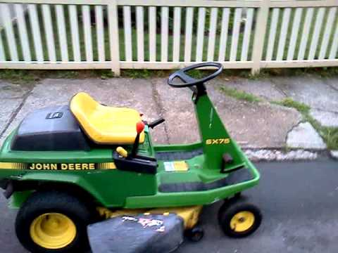 john deere riding mower manual free