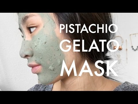 A'Pieu Rub In Gelato Mask Pistachio Review + Beauteque! | THAI-ING IT OUT