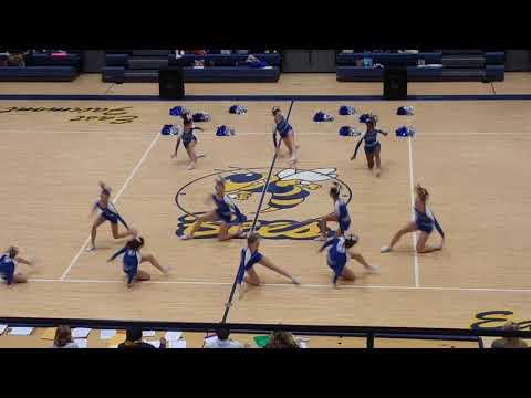 Follansbee Middle School Cheerleaders Dance Section 2018