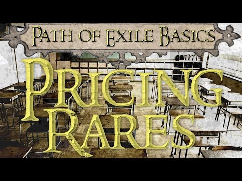 Path of Exile➥Pricing and Selling Rares using Poe.Trade