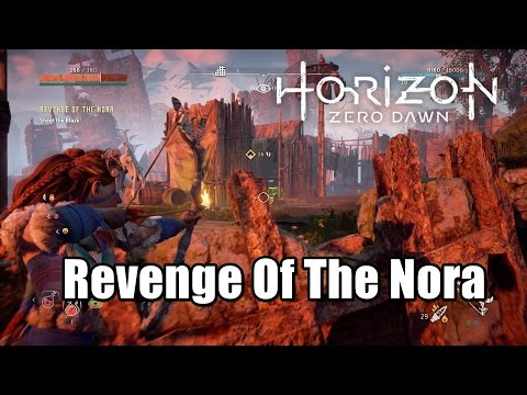 Horizon Zero Dawn Revenge Of The Nora l Clear the Camps l Shoot the Blaze Walkthrough
