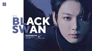 BTS - BLACK SWAN (Live Version) Line Distribution (Color Coded) | 방탄소년단 - 블랙스완
