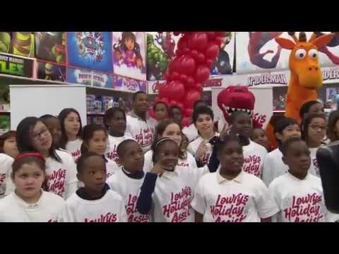 Toronto Raptors' Kyle Lowry surprises underprivileged kids