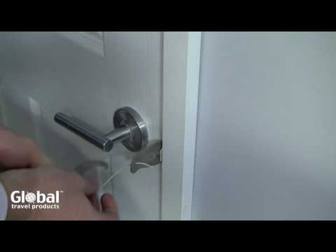 & Howsar Portable Door Lock - YouTube Pezcame.Com