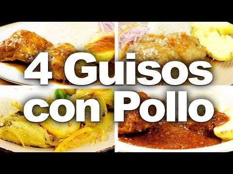 4 Recetas De Guiso Con Pollo Para Toda Ocasión | Sabores Del Perú