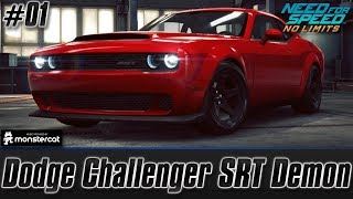 Need For Speed No Limits: Dodge Challenger SRT Demon | Unleashed (Chapter 1 - High Tide)
