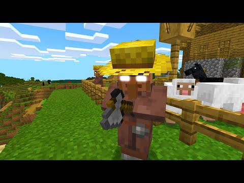 Stop stealing from villagers in Minecraft.. (terrifying)