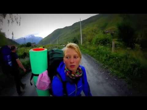 Trip to Georgia, Caucasus mountains