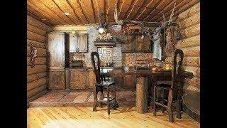 видео Кухня в деревенском доме: дизайн и особенности загородного интерьера