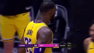 Los Angeles Lakers vs Miami Heat : November 18, 2018