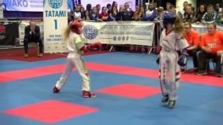 Vivien Viczien v Jesse Jane McParland WAKO Junior and Cadet World Championships 2016