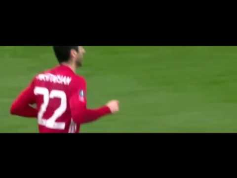 Все 11 голы Мхитаряна за Манчестер Юнайтед 2016/2017