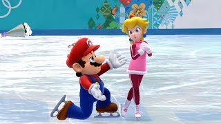 Mario and Sonic at the Sochi 2014 Olympic Winter Games: Figure Skating Pairs #21
