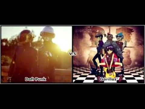 Feel Technologic Inc Daft punk vs Gorillaz