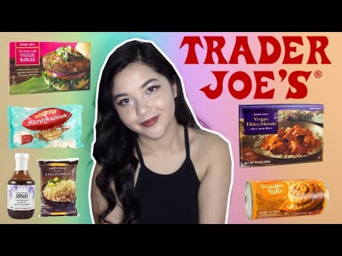 25 THINGS YOU DIDN'T KNOW ARE VEGAN! (Trader Joe's Edition)