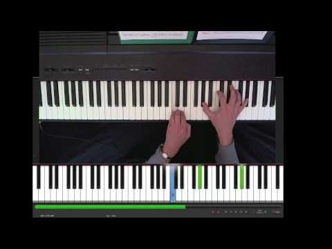 Nils Frahm, Because this must be, piano tutorial