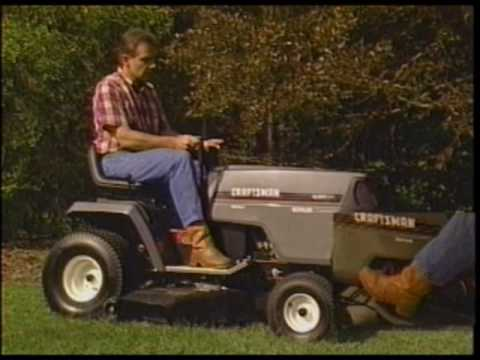 craftsman lawn garden tractor video guide vhs 1996 1 of 2 - Sears Lawn And Garden