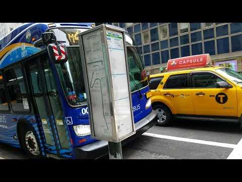 NY City Transit  Electric BuS