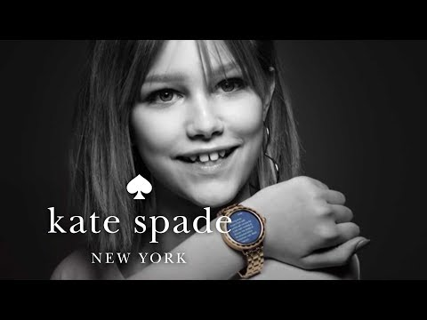 introducing our new touchscreen smartwatch | kate spade new york