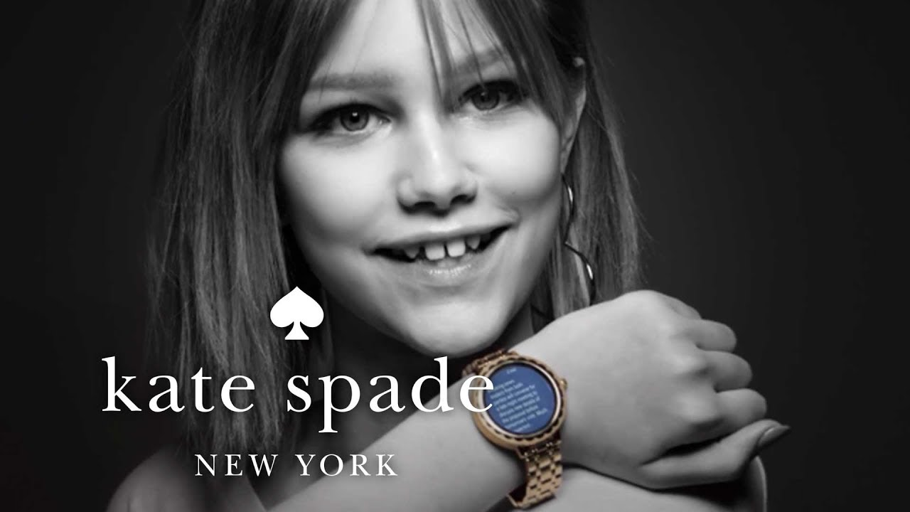 introducing our new touchscreen smartwatch kate spade new york