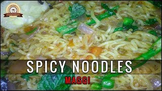 SPICY NOODLES/NEW MAGGI RECIPE| BY STUNNING FOOD RECIPES