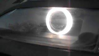 видео Ангельские глазки для ВАЗ 2114