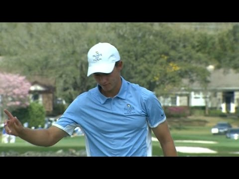 Maverick McNealy Cards Eagle On No. 6 At Arnold Palmer