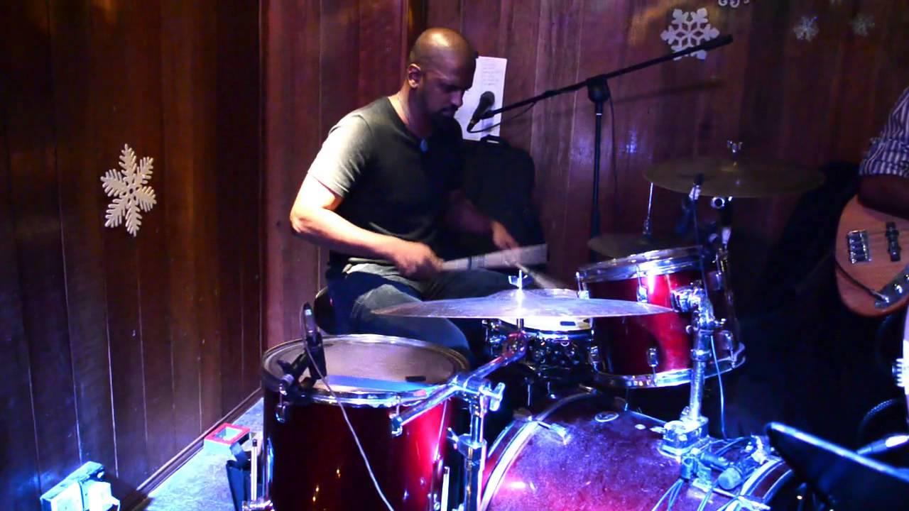 arumugam goes to alabama xmas eve at backyard pub drums solo