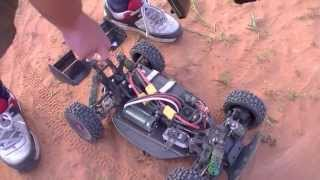brushless v s nitro hobao hyper 7 s bashing time quarry bash 10 part 1 rc car club