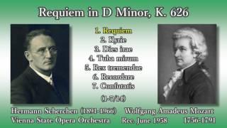 Mozart/Süssmayr: Requiem, Scherchen (1958) モーツァルト レクイエム シェルヘン