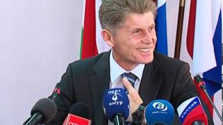 пресс конференция Олега Кожемяко