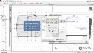 ProtaStructure ile Modelleme - Kullanıcı Tanımlı Kiriş Yükleri