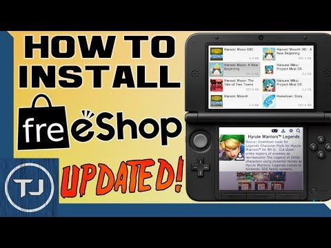 How To Install FreeShop! 3DS/2DS [11.6 CFW] (LATEST UPDATE) 2017!