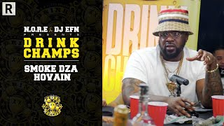 Smoke DZA & Hovain Share Gems For All Independent Artists, Managers And More | Drink Champs