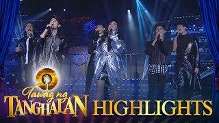Tawag ng Tanghalan: BoybandPH and Yeng rock the stage with the hits of Rivermaya