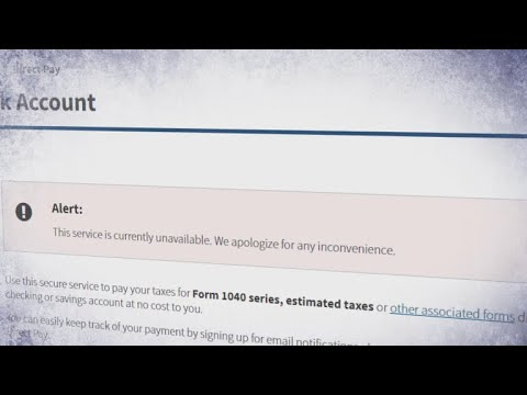 IRS site suffers partial outage on Tax Day