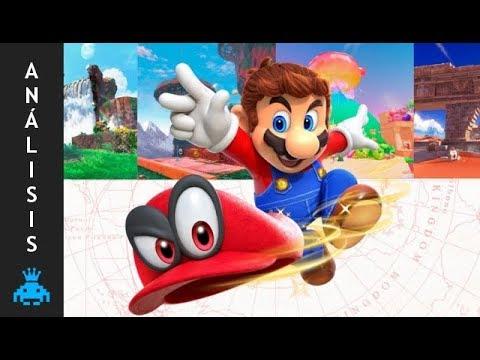 ANÁLISIS - Super Mario Odyssey - ¡Esta aventura es una verdadera odisea!