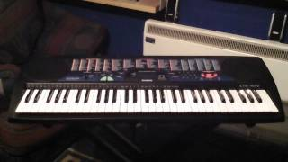 Casio CTK-495 Keyboard 100 Demonstration Songs Part 4/5 Songs 061 to 080