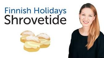 Finnish Holidays - Shrovetide - Laskiainen