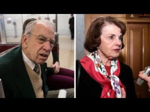 Grassley slams Feinstein for releasing critical testimony