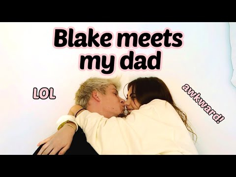 BLAKE GRAY MEETS MY DAD *VLOG* | Amelie Zilber