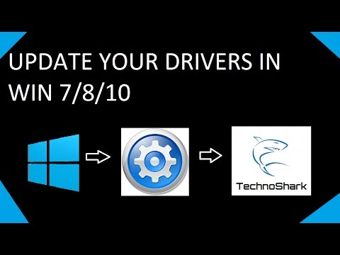 How To Update Your Drivers For Free In Windows 7/8/10!