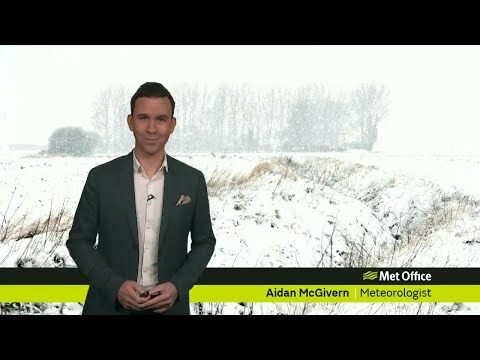 Tuesday mid-morning forecast 16/01/18