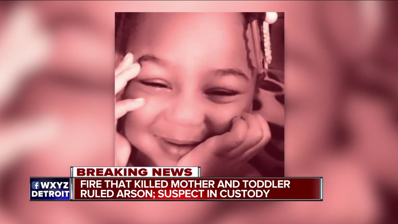 Mother, 2-year-old daughter die in arson fire on Detroit's west side