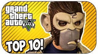 Top 10 WORST PLAYERS in GTA 5 Online! (Episode #80)