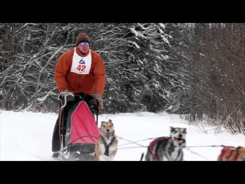 Burke Mountain's Annual Dog Sledding Races