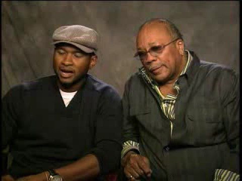 Usher and Quincy Jones -- Great Mentors