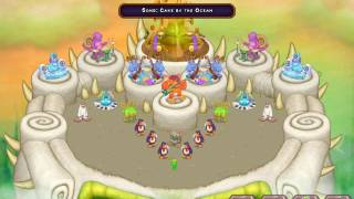 Cake by the ocean in My Singing Monsters