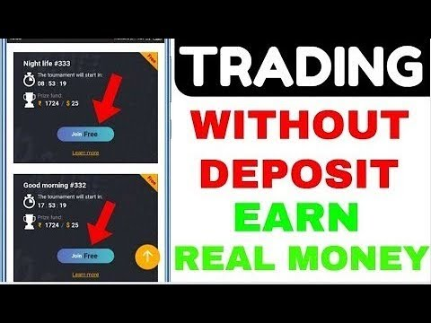Forex trade with real money