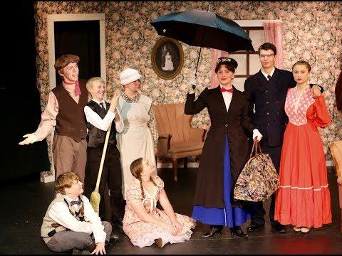 Mary Poppins Jr supercalifragilisticexpialidocious Brighton Academy 2018